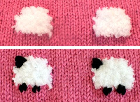 Sheep Baby Blanket - Two Sisters Crafting