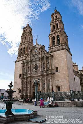 Chihuahua, Mexico. Went to a conference there and stayed very close to the cathedral.