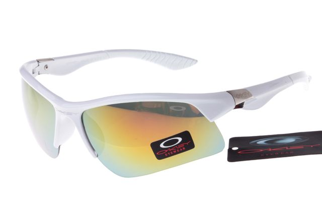 Oakley Crankcase Sunglasses White Frame Colorful Lens 0146