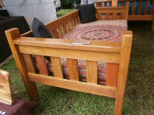 Custom Outdoor daybed $550.00 Illusive Wood Designs