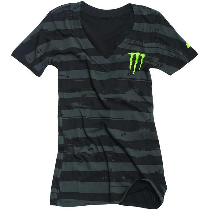 monster energy clothing | ONE INDUSTRIES OFFICIAL MONSTER ENERGY WOMENS THRILL TEE LADIES GIRLS ...