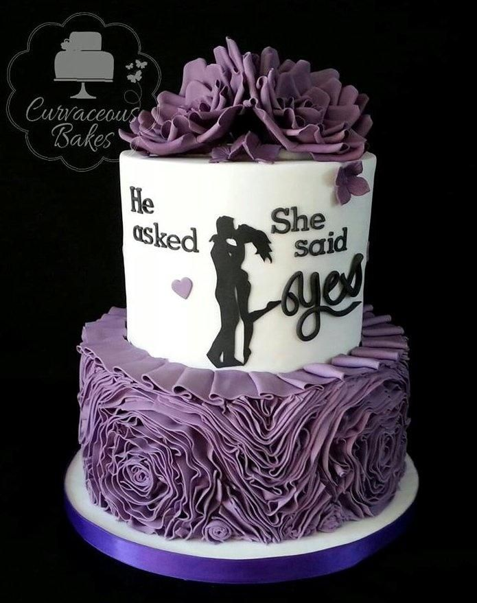 Cake Decorations For Engagement : 25+ Best Ideas about Engagement Cakes on Pinterest ...