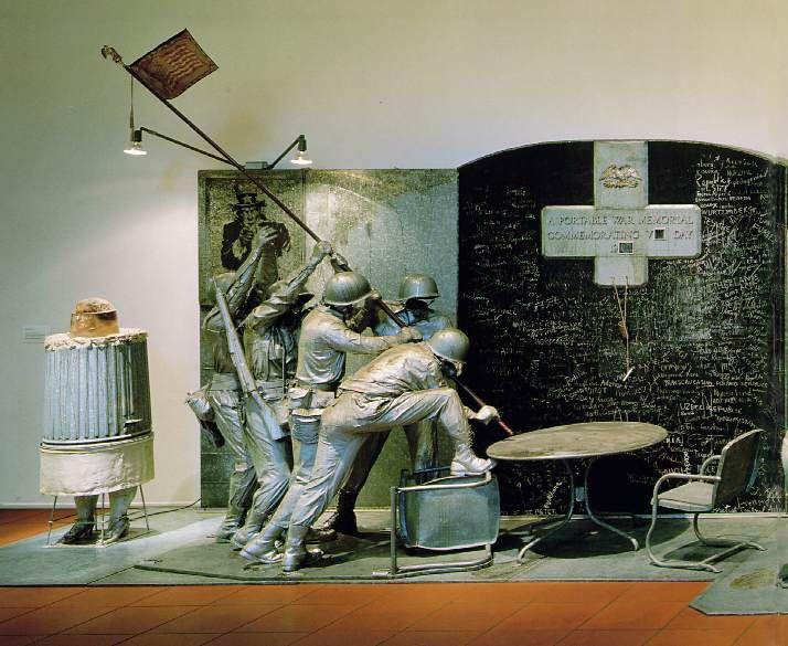 "Edward Kienholz  ""The Portable War Memorial"" (Detail)"
