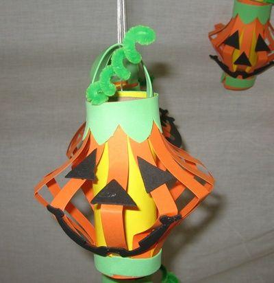 cute toilet paper roll jack o lantern cute halloween halloween pictures halloween images halloween crafts halloween ideas jack o lantern halloween craft - Halloween Crafts Construction Paper