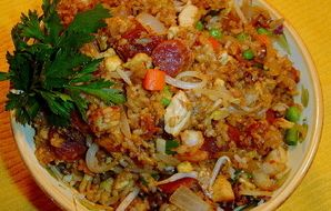 Chinese House Special Fried Rice - RecipeZazz