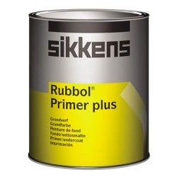 Sikkens Rubbol Primer plus is een goed dekkende grondverf voor buiten. Goede hechting op diverse ondergronden. Geschikt voor het gronden en overgronden van geveltimmerwerk en reeds voorbehandelde metalen en kunststoffen.