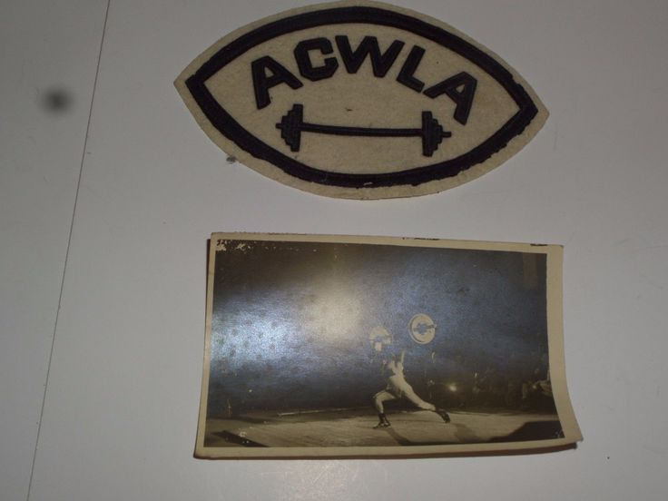 (adsbygoogle = window.adsbygoogle || []).push();     (adsbygoogle = window.adsbygoogle || []).push();   Vintage Weightlifting Assoc. Patch and 1947 Postcard Addressed to York Barbell  Price : 7.50  Ends on : Ended  View on eBay      (adsbygoogle = window.adsbygoogle || []).push();