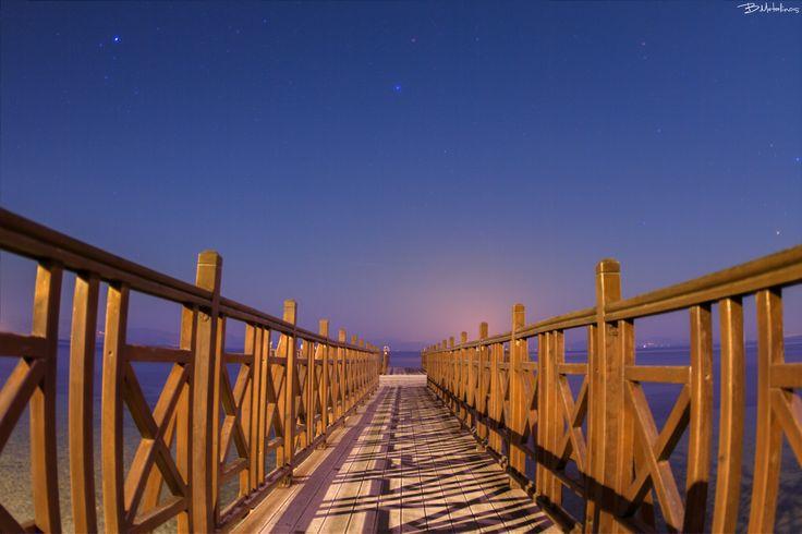 Βridge of dreams - Βridge of dreams  Night landscape near the Kaisers bridge, Benitses, Corfu