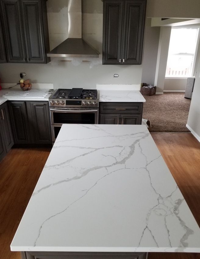 Best Image Result For Calacatta Laza Quartz Kitchen Quartz 400 x 300