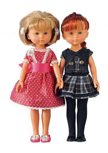 Marie et Claire Les Chéries dolls by Corolle