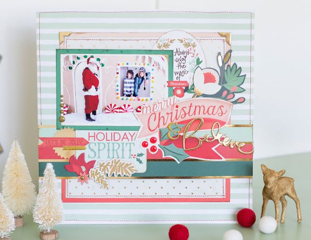 Mixed media paper crafting merry christmas card - 331 Best My Minds Eye Images On Pinterest Paper Crafting