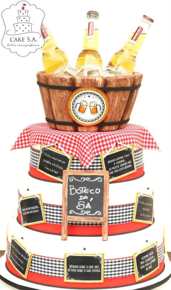 Bolo Boteco www.facebook.com/CakeS.A.1