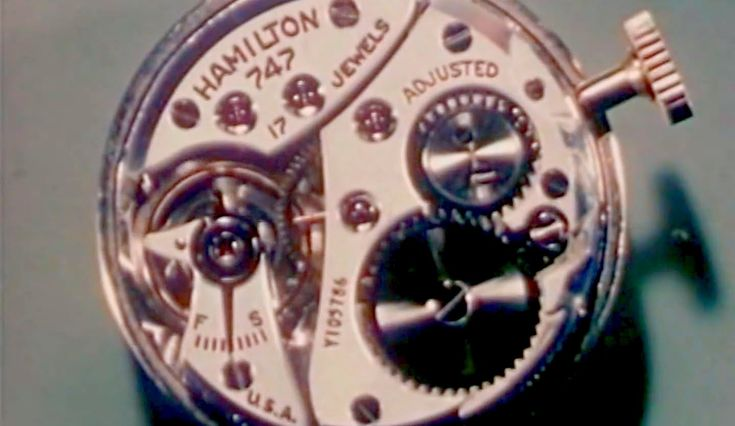 "Watch Movements: ""How a Watch Works"" 1949 Hamilton Watch Company https://www.youtube.com/watch?v=_2J5phyd9J4 #time #clocks #watches"
