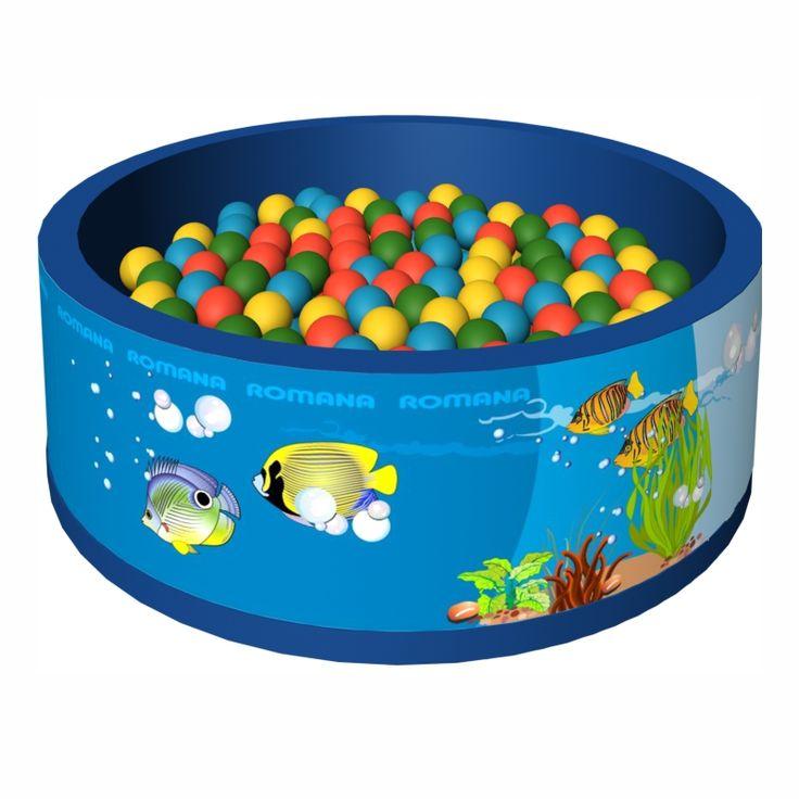 """Сухой бассейн с шариками """"Подводный мир"""""""