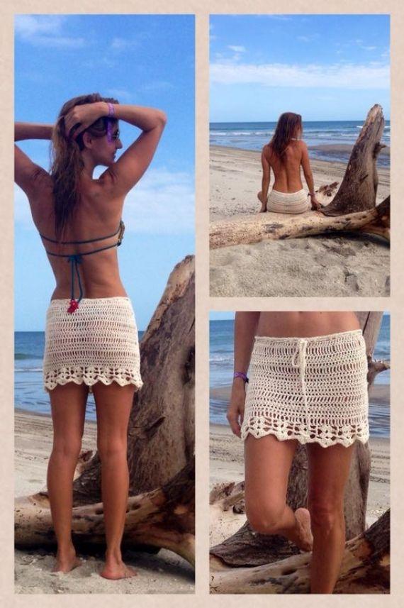 Pollera en crochet - Crochet - Tejidos de Punto - 498432