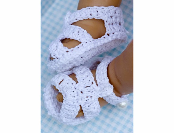 Baby Crochet Patterns Cc21bclassic Crochet Baby Sandals Pattern