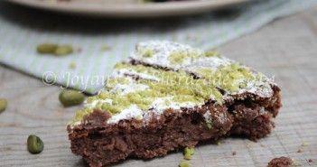 Gâteau sans gluten au chocolat et ricotta