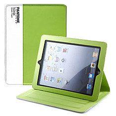 pantone ipad2 bookcase green