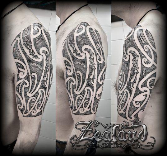 Maori Tattoo Gallery – Zealand Tattoo – Tamoko