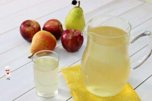 Компот из яблок и груш на зиму - Готовим рецепты