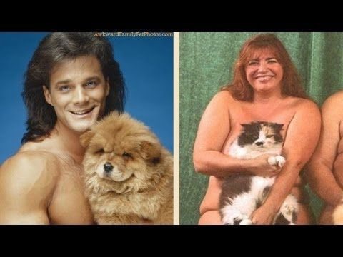 We all love our pets... but these people might love them just a little too much. With a big assist from Awkward Family Photos .