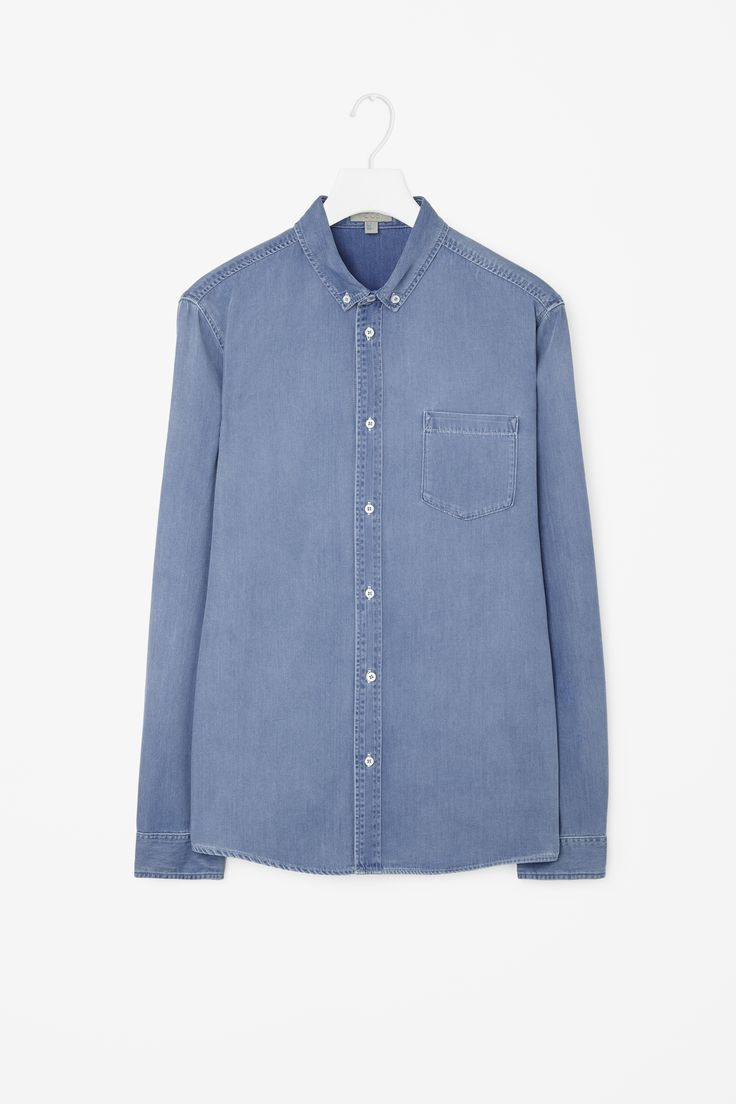 COS | Denim Shirt With pocket