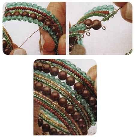 Como hacer brazalete con mostacillas, canutillos y cuentas.: Bracelet, Cuffs Bracelets, Beads Bracelets, Esta Pulsera, Jewelry Bracelets, Cuff Bracelets, Memory Wire Bracelets, Memories Wire Bracelets, Step By Step