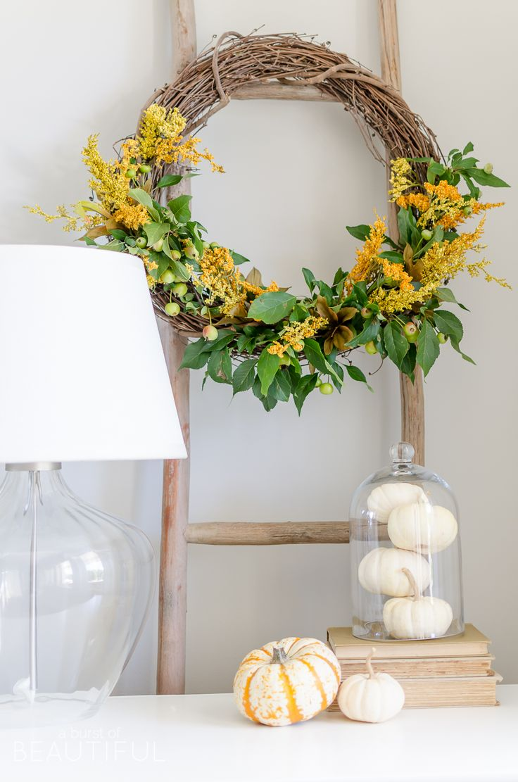 1000+ Ideas About Natural Fall Decor On Pinterest
