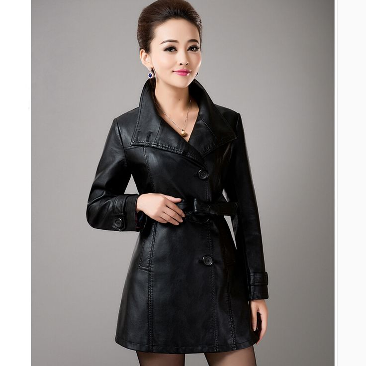 38 best Womens Leather Coats images on Pinterest
