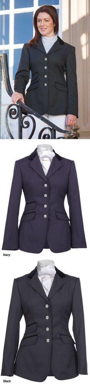 English Tack Store - Shires Ladies Marlow Dressage Jacket, $169.95 (http://www.englishtackshop.com/shires-ladies-marlow-dressage-jacket/)