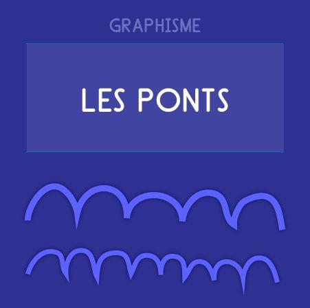 Graphisme Maternelle - Les ponts à l'endroit et à l'envers