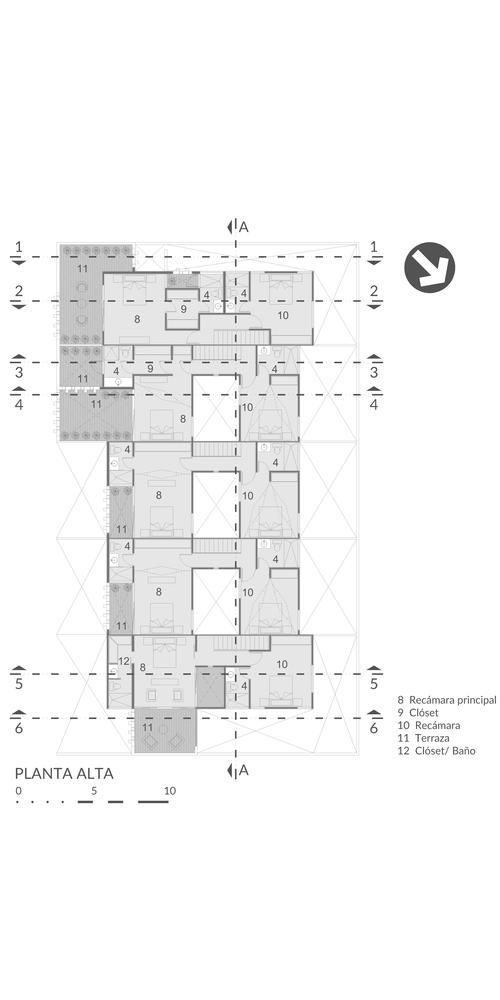 Town houses Líbano / Taller Estilo Arquitectura / Año 2017.