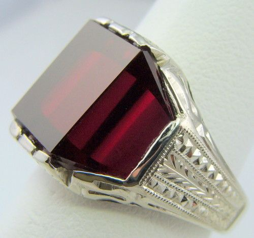 Mens Ring Antique Vintage Collectible Deco Estate 1920 S