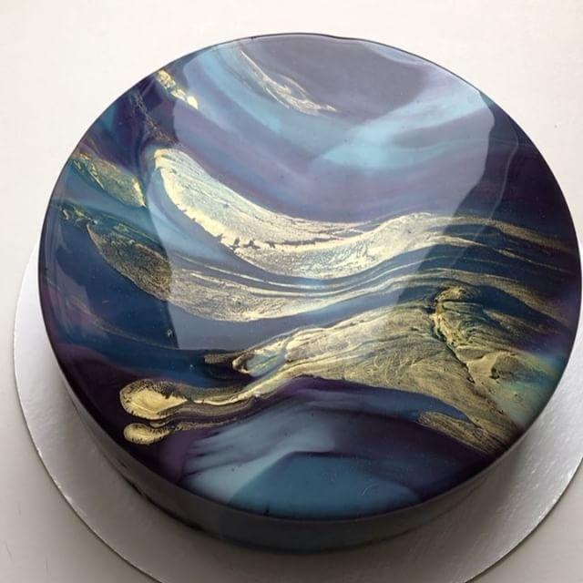 نتيجة بحث الصور عن Mirror cake