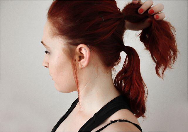 Hair Hack: Longer & Fuller Ponytail #beauty #beautyblogger #beautyblog #bblogger #bblog #hair #bob #shorthair #hairstyle