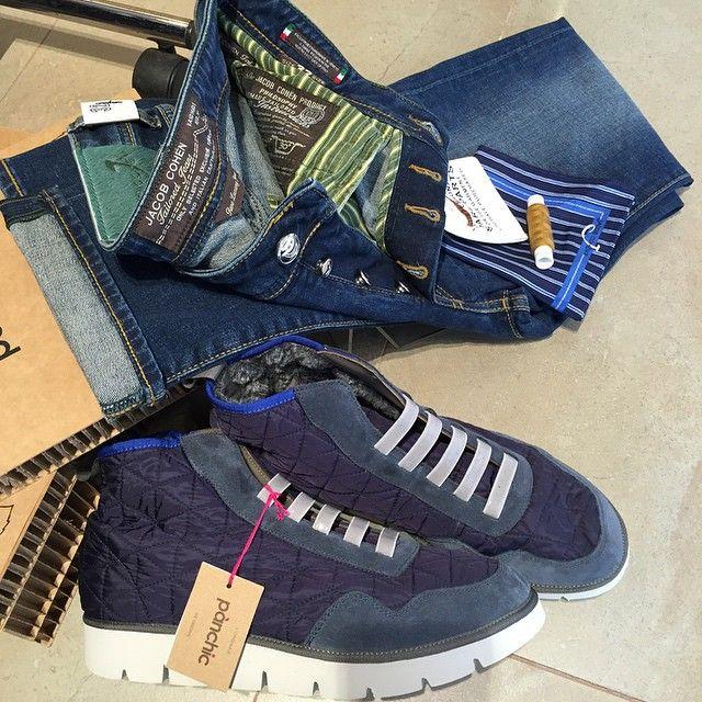 #DenimShopArt a @carrerasbotigues #jacobcohen #panchic #jeans #shoes #luxury #fashion #popup