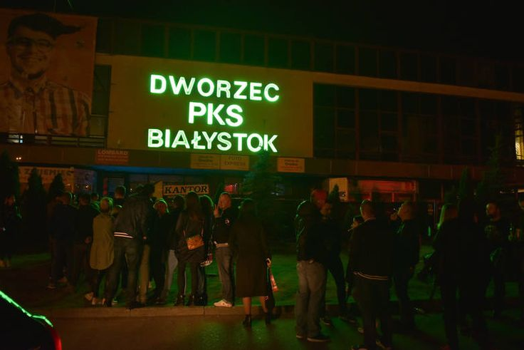 Zobacz jak wyglądało pożegnanie dworca PKS w Białymstoku.