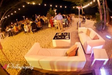 Sunset Beach House Wedding Reception