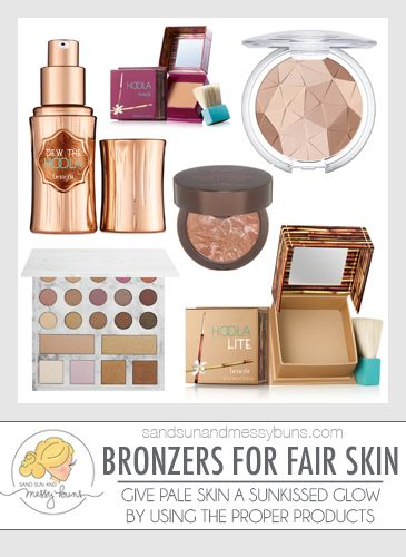Want to know the best bronzer for fair skin? This list has it all -- from liquid bronzers to matte powders, and everything in between!