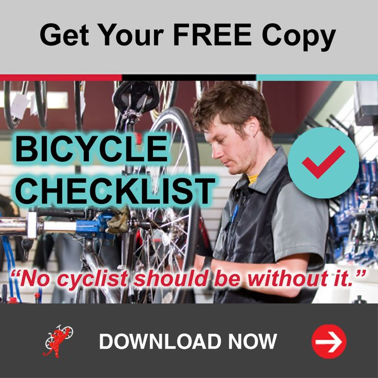 """Get your FREE copy of our """"Bicycle Checklist"""" ✔️ at http://BikeRoar.com! Use this direct link : https://bikeroar.leadpages.net/leadbox/146abf373f72a2:17dcee124b46dc/5759180434571264.   _ #bicycle #maintenance #cycling #bike #checklist"""