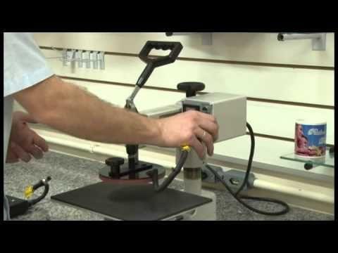 Como estampar, prensa térmica 4 em 1 Metalnox, como fazer foto produto - YouTube