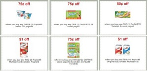 Printable Coupons: YoPlait, Go-Gurt and more (  Target deals)