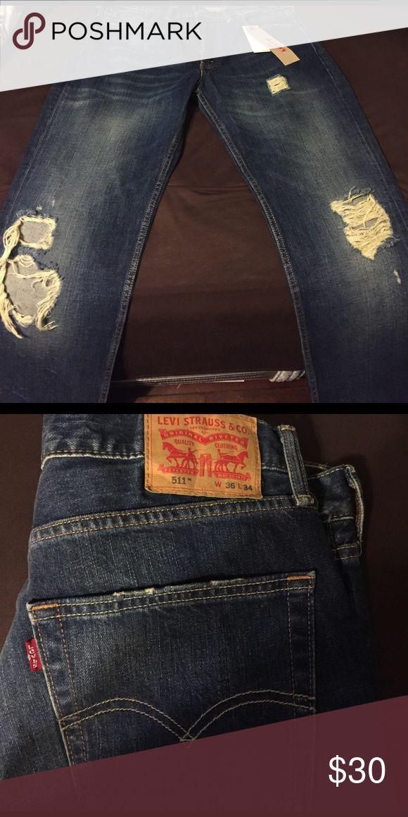Men's Levi Jeans NWT Men's Levi Jeans. Style 511. 36x34. NWT. Levi's Jeans Slim