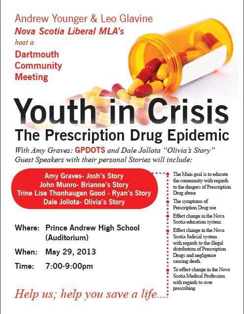 Youth In Crisis - Community Meeting - Dartmouth Nova Scotia