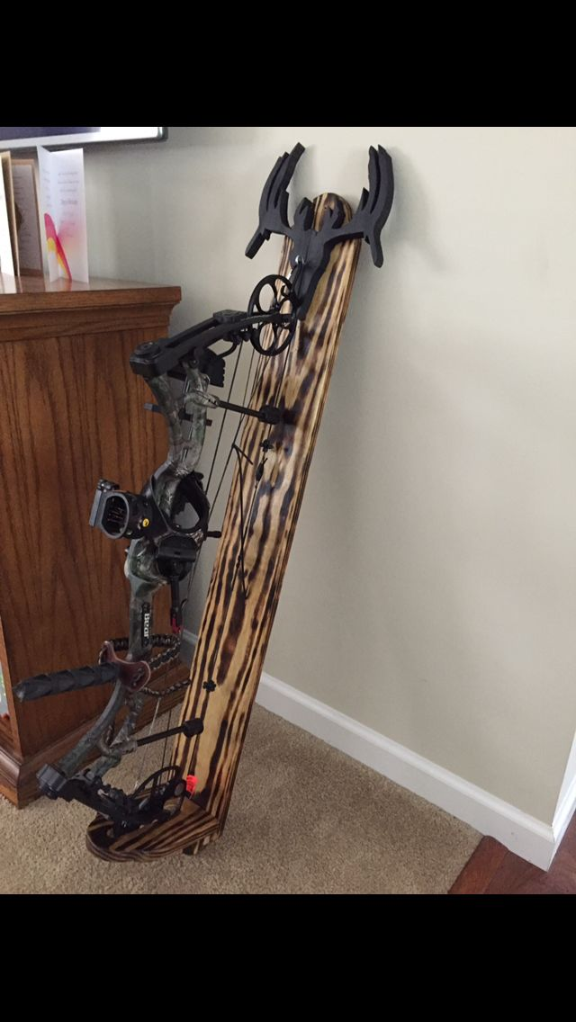 Diy bow rack                                                                                                                                                                                 More