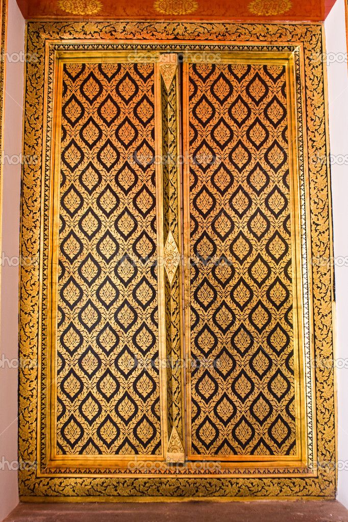 Native Thai style of Buddhist temple door & 8 best ???????? images on Pinterest | Bodhi leaf California ... pezcame.com