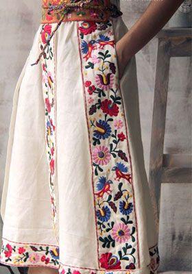 юбка в этническом стиле