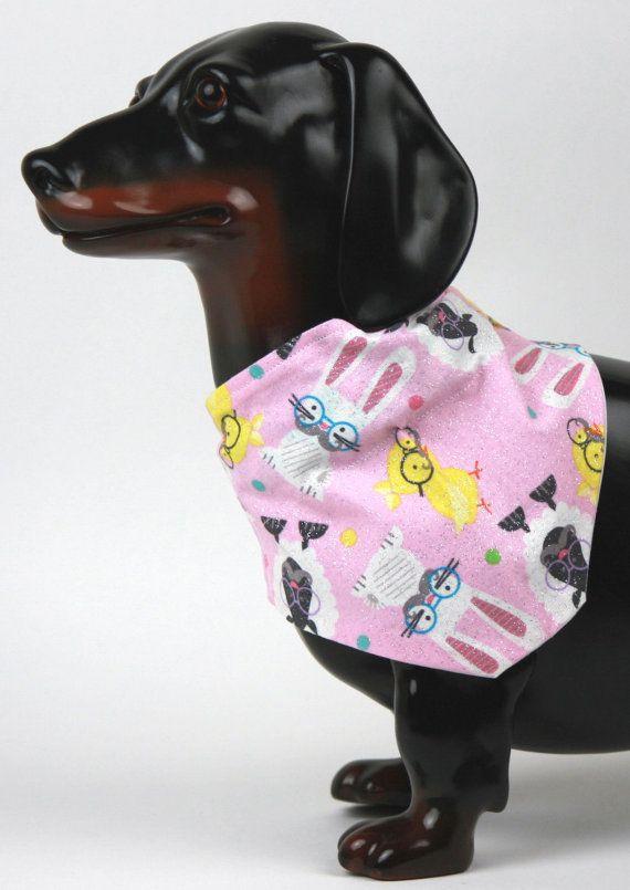 Dog Bandana Easter Dog Tie On