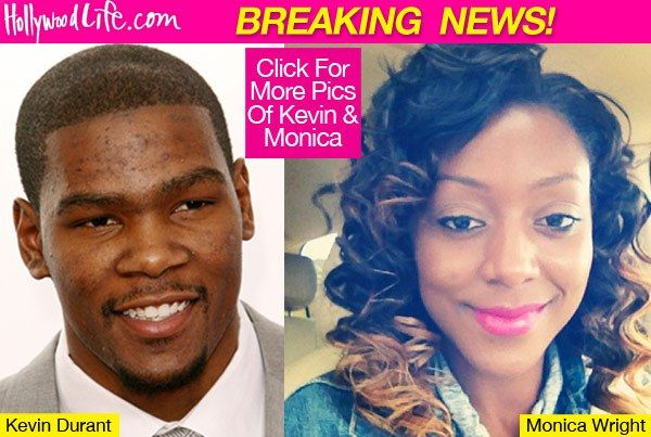 Kevin Durant Gets Engaged — NBA Star Asks Monica Wright To Marry Him ...