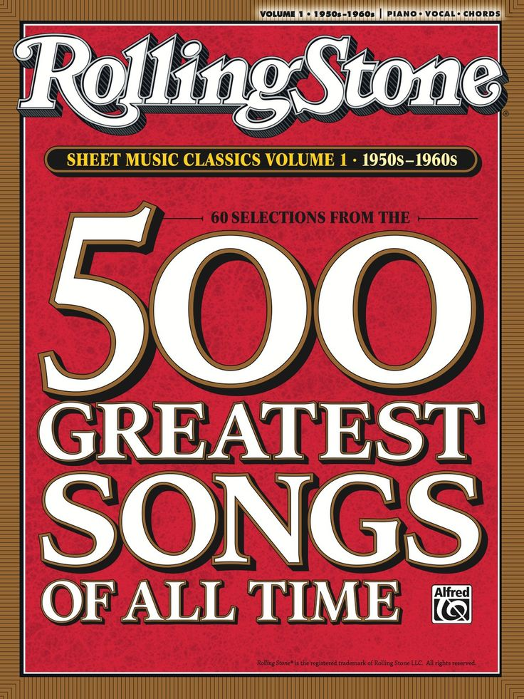 Rolling Stone Sheet Music Classics Volume 2 1970s 1990s Easy